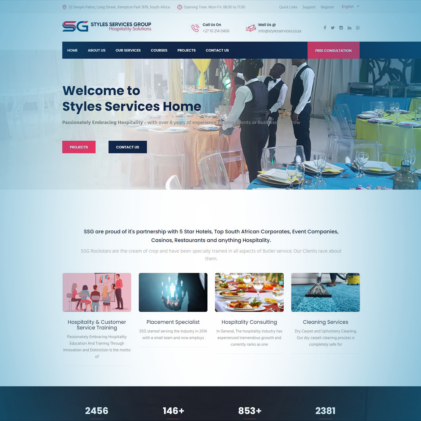 Styles Services Group Website
